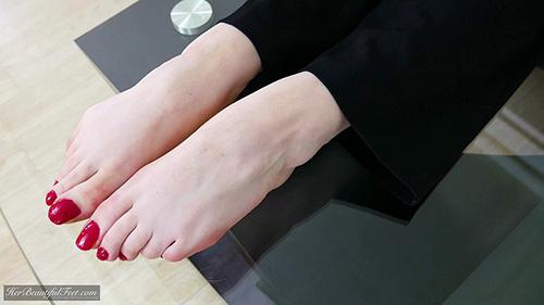 Her Beautiful Feet